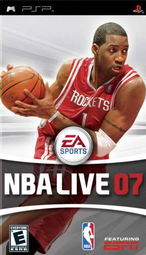 NBA Live 07 / PSP / Rus / 2006